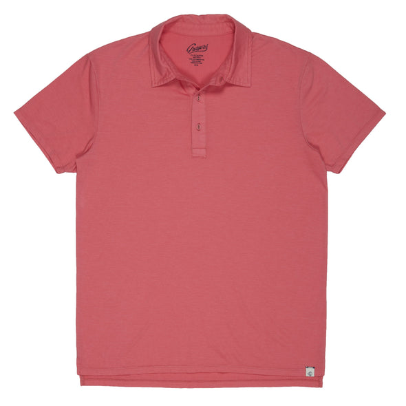Drake Micro Stripe Lux Short Sleeve Polo
