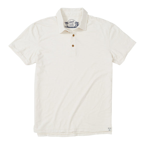South Bay Slub Jersey Polo - JOURNEYMAN CO.