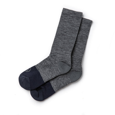 Taylor Stitch Merino Sock in Charcoal