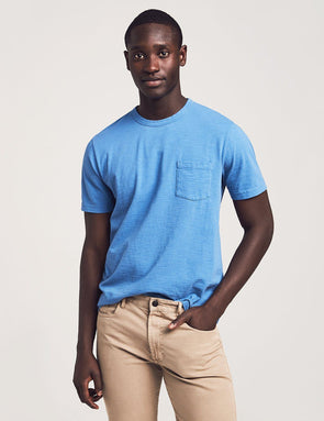 Sunwashed Pocket Tee - JOURNEYMAN CO.