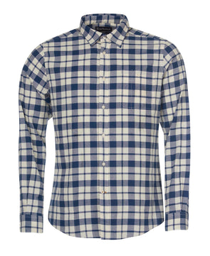 Barbour Sealton Shirt in Washed Navy