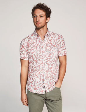 Playa SS Shirt Faded Red - JOURNEYMAN CO.
