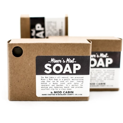 Mod Cabin Miner's Mint Soap