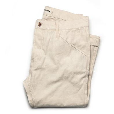 Camp Pant - Natural Reverse Sateen - JOURNEYMAN CO.