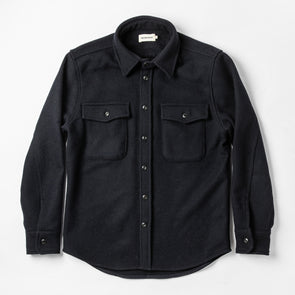 Taylor Stitch Maritime Shirt in Deep Navy