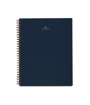 Appointed Notebook in Oxford Blue