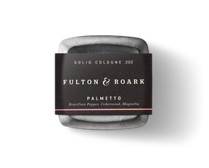 Fulton & Roark Palmetto Solid Cologne - JOURNEYMAN CO.