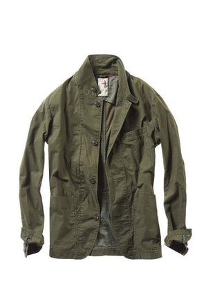 Flex Field Blazer Olive Drab - JOURNEYMAN CO.