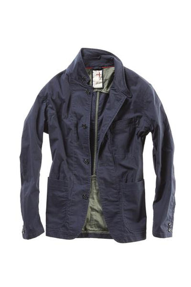Flex Field Blazer Dark Navy - JOURNEYMAN CO.