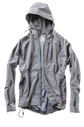 Highpoint Waterproof Jacket - Ice Grey - JOURNEYMAN CO.