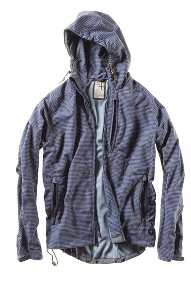 Highpoint Waterproof Jacket - Navy Grid
