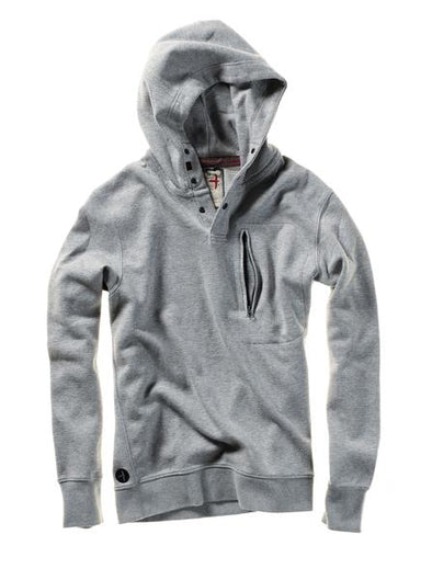Relwen Windsurf Hoodie in Lt. Grey Heather