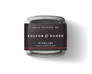 Fulton & Roark Sterling Solid Cologne - JOURNEYMAN CO.