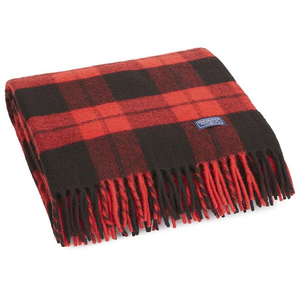 Buffalo Check Wool Throw - JOURNEYMAN CO.