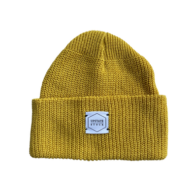 Upstate Stock Eco-Cotton Watchcap in Sunflower