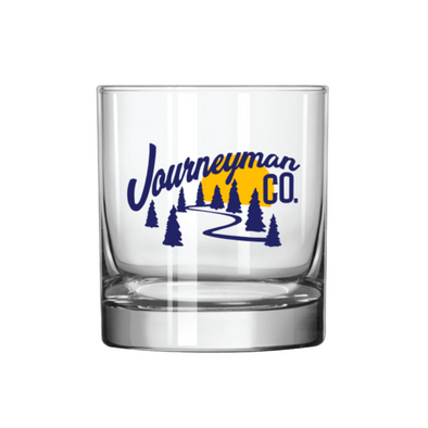 Journeyman Co. Northwoods Rocks Glass