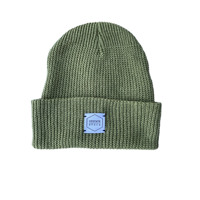 Upstate Stock Eco-Cotton Watchcap in Matcha