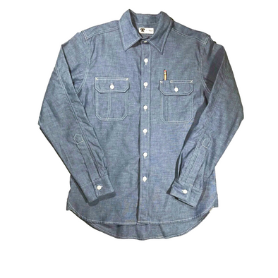 Tellason Clampdown Chambray Work Shirt