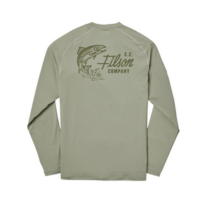 Filson Long Sleeve Barrier Tee in Desert Sage