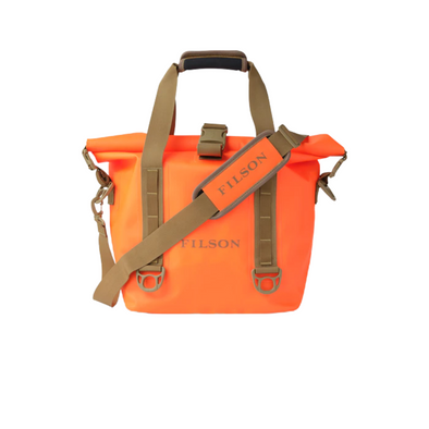 Filson Dry Roll-Top Tote Bag in Flame