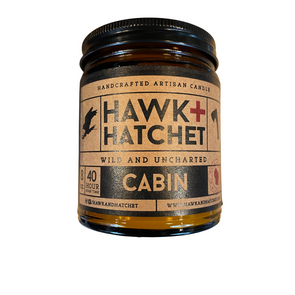 Hawk + Hatchet Candle Cabin