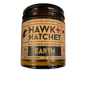 Hawk + Hatchet Candle Earth