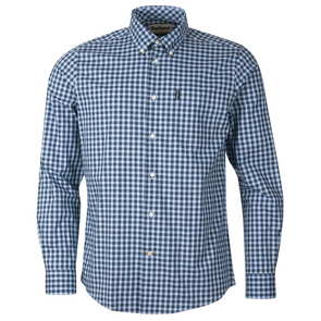 Barbour Gingham 22 Shirt in Blue