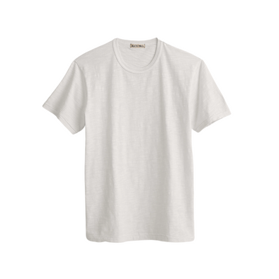 Alex Mill Slub Cotton T-Shirt No/Pocket in White