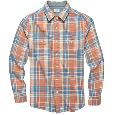Faherty Roadtrip Shirt in Sunset Plaid