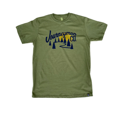 JOURNEYMAN CO. Northwoods Tee in Olive