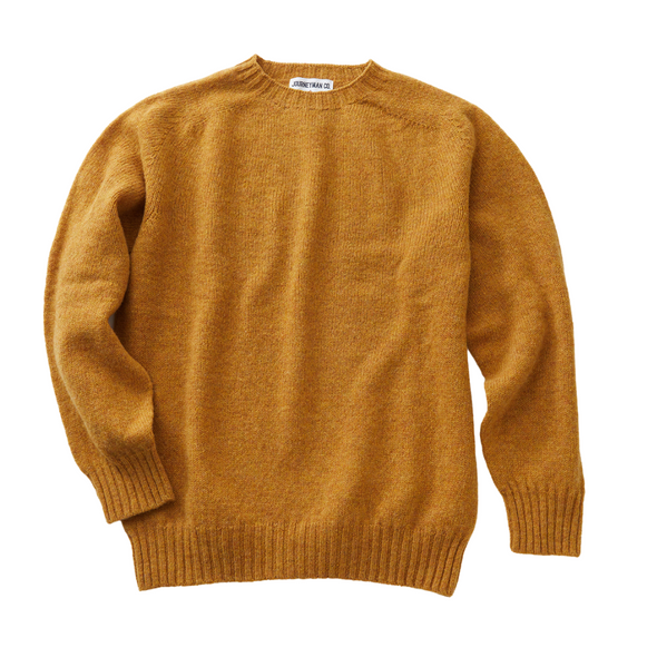 Journeyman Co. x Harley of Scotland Sweater in Cummin