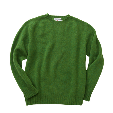 Journeyman Co. x Harley of Scotland Sweater in New Lawn