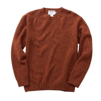 Journeyman Co. x Harley of Scotland Merino Sweater in O'Farrel