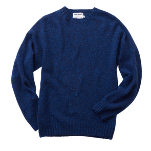 Journeyman Co. x Harley of Scotland Merino Sweater in Roe