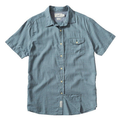 Horizon Twill SS Shirt - JOURNEYMAN CO.