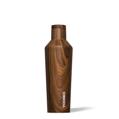 Corkcicle Walnut Wood 16oz. Canteen