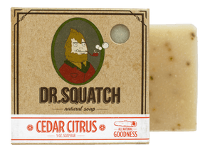 Dr. Squatch Handmade Soap Cedar Citrus - JOURNEYMAN CO.