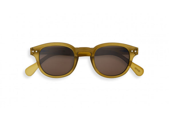 Izipizi C Frame Sunglasses in Bottle Green