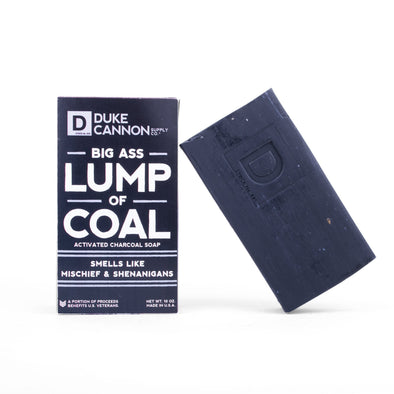 Big Ass Lump of Coal Soap - JOURNEYMAN CO.
