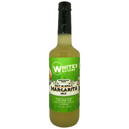 White's Elixirs Hot & Spicy Margarita Mix - JOURNEYMAN CO.