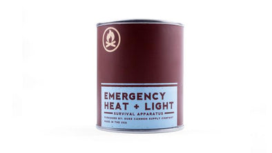 Emergency Heat + Light Candle - Leaf & Leather