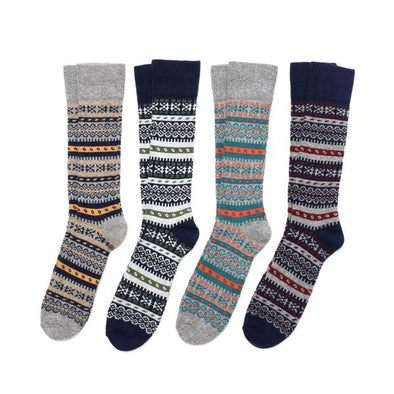 Fair Isle Sock - JOURNEYMAN CO.