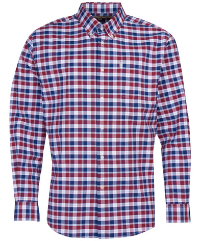 Country Check 15 LS Shirt - Rich Red