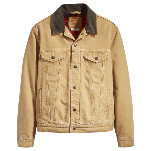 Levi's Lined Canvas Trucker Jacket