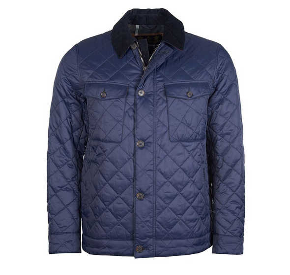 Barbour Maesbury Quilted Jacket in Navy