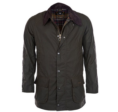 Barbour Bristol Wax Jacket in Olive