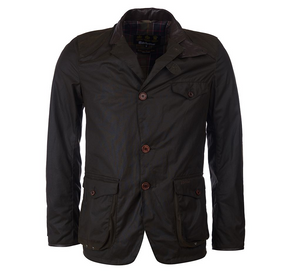 Barbour Beacon Sports Jacket in Olive