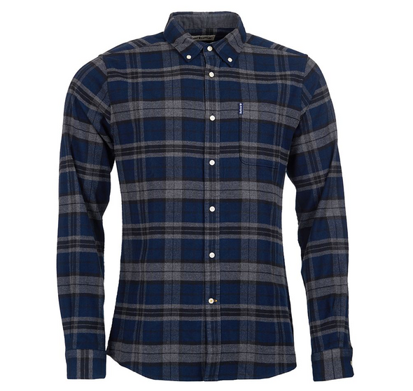 Barbour Highland Check 19 in Grey Marl