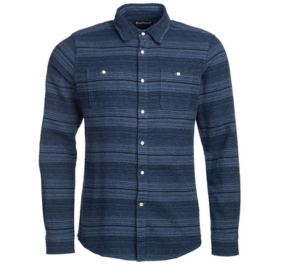 Barbour Plockton Shirt in Navy