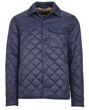 Barbour Tember Quilt Jacket in Navy